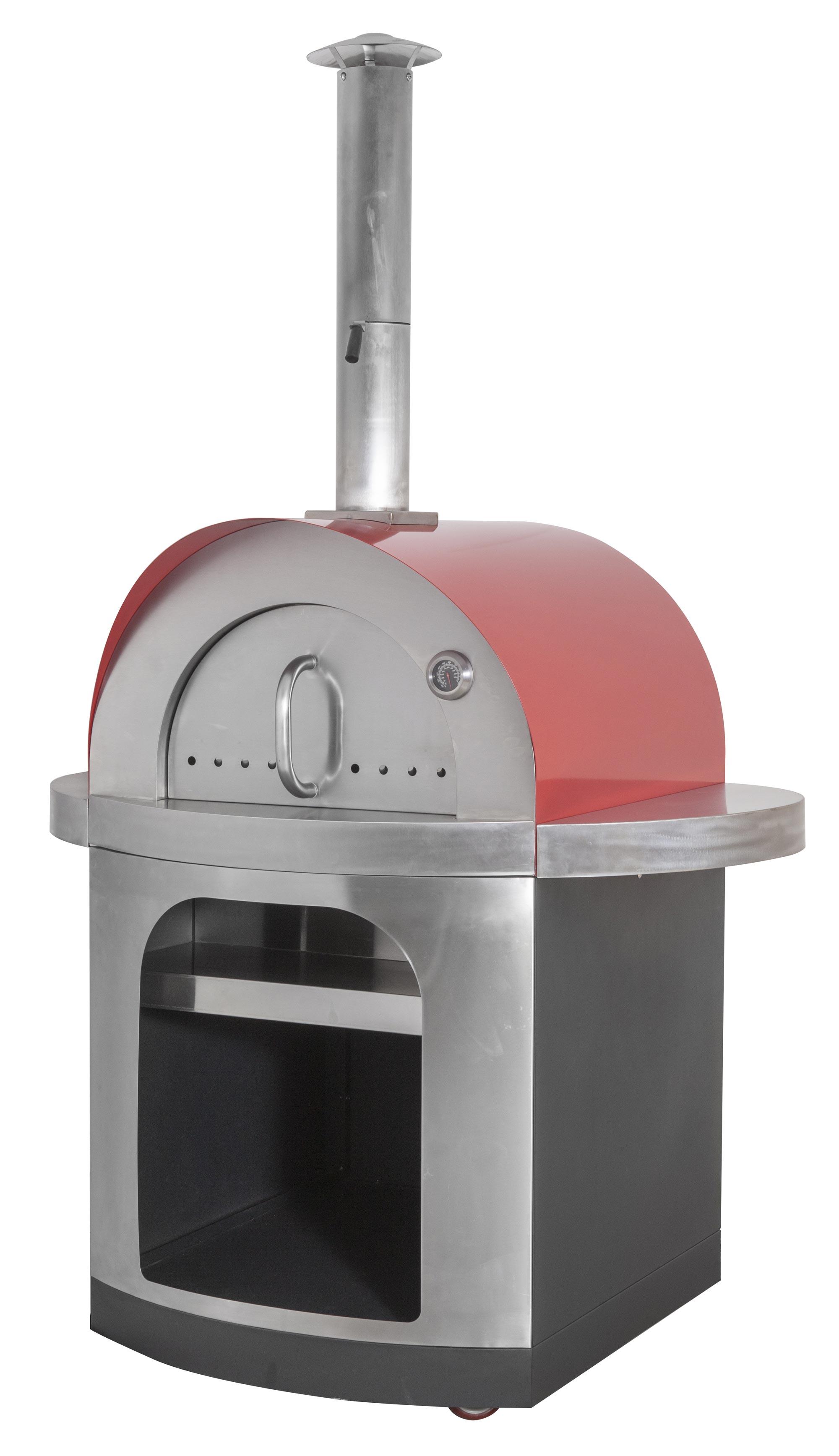 Pizzaofen / Brotbackofen / Flammkuchenofen D7060 Agrigento mit Gestell Bild 1