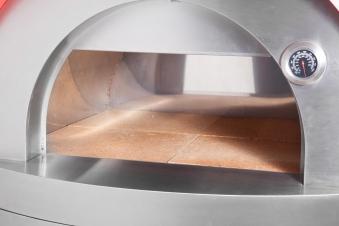 Pizzaofen / Brotbackofen / Flammkuchenofen D7060 Agrigento mit Gestell Bild 4