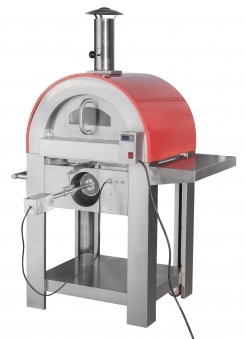 Pizzaofen / Brotbackofen / Flammkuchenofen D7263 Carini mit Gestell Bild 1
