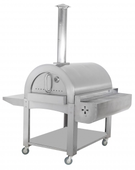 Pizzaofen / Brotbackofen / Flammkuchenofen D9867 Bovalino mit Gestell Bild 1