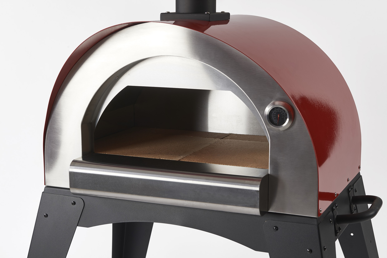 Pizzaofen Für Gasgrill : Flammkuchenofen pizzaofen brotbackofen ciao ii rot bei