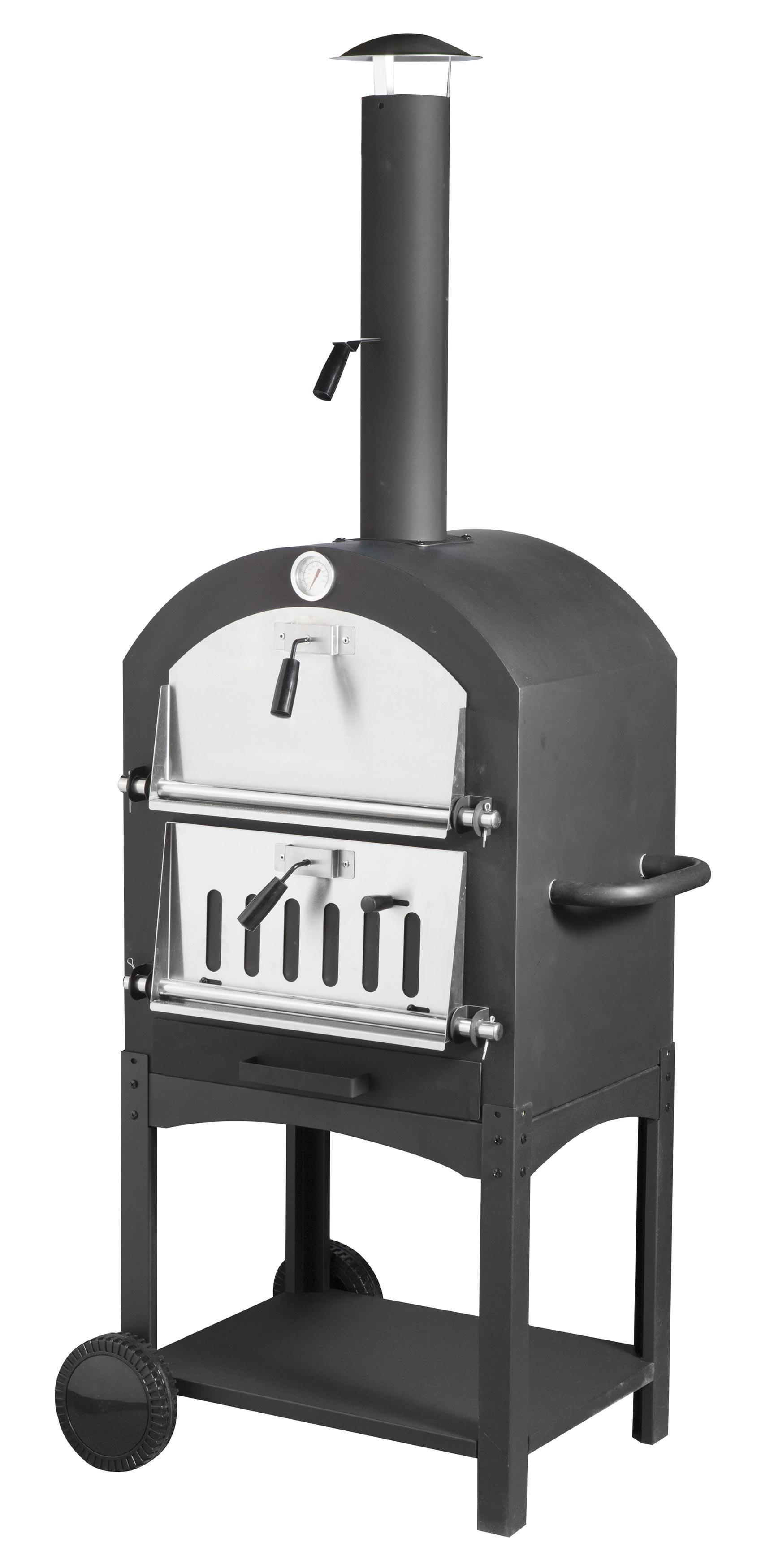 Pizzaofen / Brotbackofen / Flammkuchenofen Trapani mit Pizzastein Bild 1