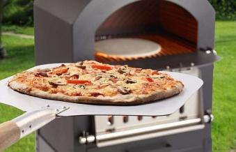 Pizzaofen / Brotbackofen / Flammkuchenofen Trapani mit Pizzastein Bild 4