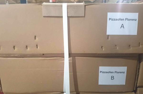 Pizzaofen Brotbackofen Holzbackofen Florenz 2P Bild 3