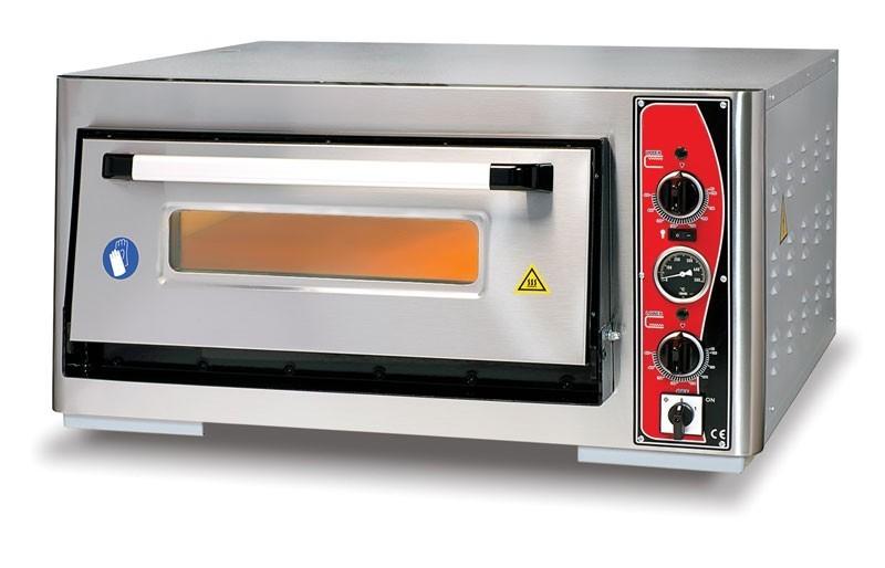 Pizzaofen CLASSIC PF 6262 E-T 400 V / 5 kW m. 1 Backkammer & Thermo Bild 1