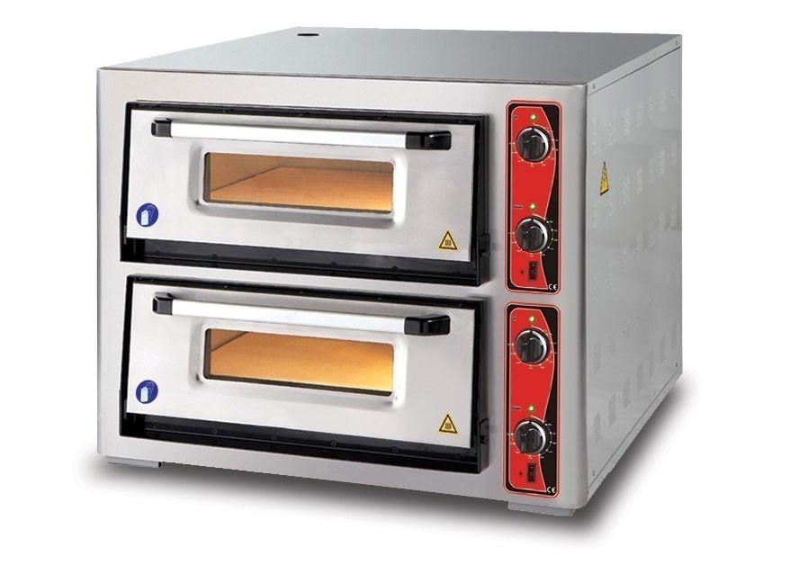 Pizzaofen CLASSIC PF 6292 DE 400 V / 12 kW mit 2 Backkammern Bild 1