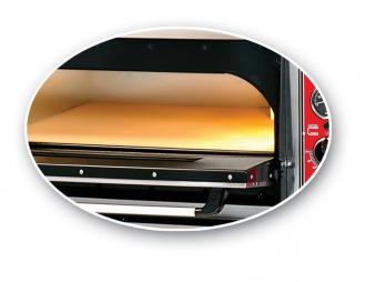Pizzaofen CLASSIC PF 6292 DE-T 400 V / 12 kW m. 2 Backkammern & Thermo Bild 2