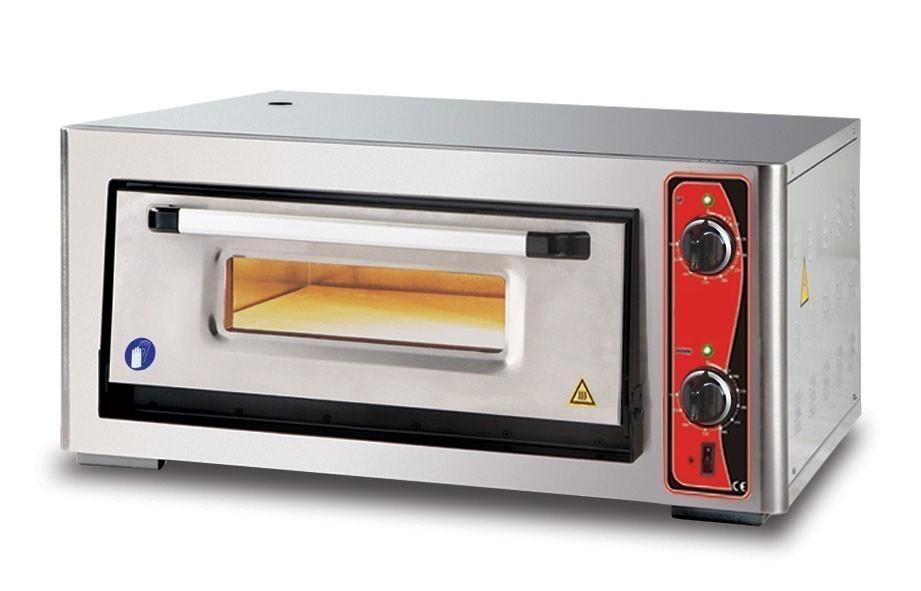 Pizzaofen CLASSIC PF 6292 E 400 V / 6 kW mit 1 Backkammer Bild 1