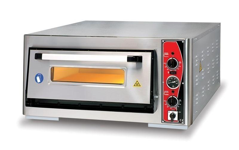 Pizzaofen CLASSIC PF 6292 E-T 400 V / 6 kW m. 1 Backkammer & Thermo Bild 1