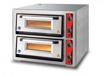 Pizzaofen CLASSIC PF 7070 DE 400 V / 10 kW mit 2 Backkammern Bild 1