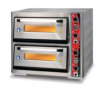 Pizzaofen CLASSIC PF 7070 DE-T 400 V / 10 kW m. 2 Backkammern & Thermo Bild 1