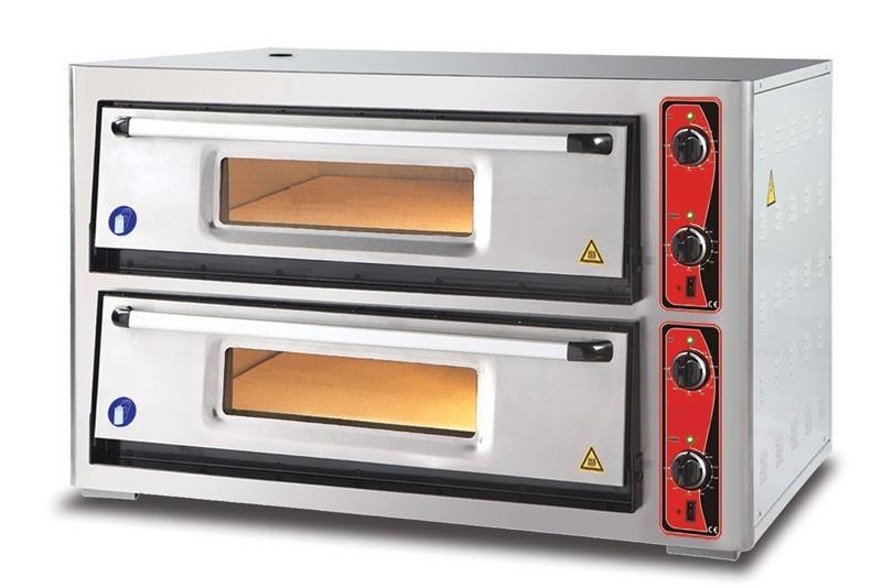 Pizzaofen CLASSIC PF 9262 DE 400 V / 12 kW mit 2 Backkammern Bild 1