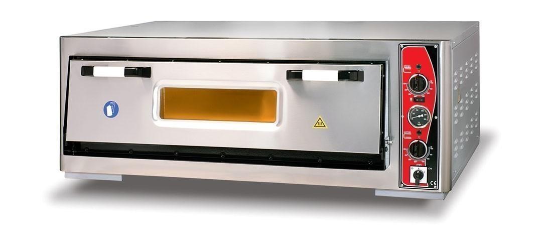 Pizzaofen CLASSIC PF 9262 E-T 400 V / 6 kW m. 1 Backkammer & Thermo Bild 1