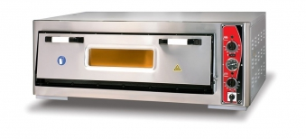 Pizzaofen CLASSIC PF 9262 E-T 400 V / 6 kW m. 1 Backkammer & Thermo