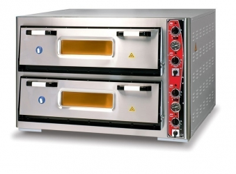 Pizzaofen CLASSIC PF 9292 DE-T 400 V / 16 kW m. 2 Backkammern & Thermo Bild 1
