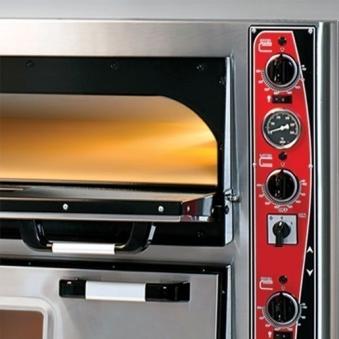 Pizzaofen CLASSIC PF 9292 DE-T 400 V / 16 kW m. 2 Backkammern & Thermo Bild 2