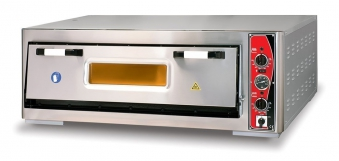 Pizzaofen CLASSIC PF 9292 E-T 400 V / 8 kW m. 1 Backkammer & Thermo