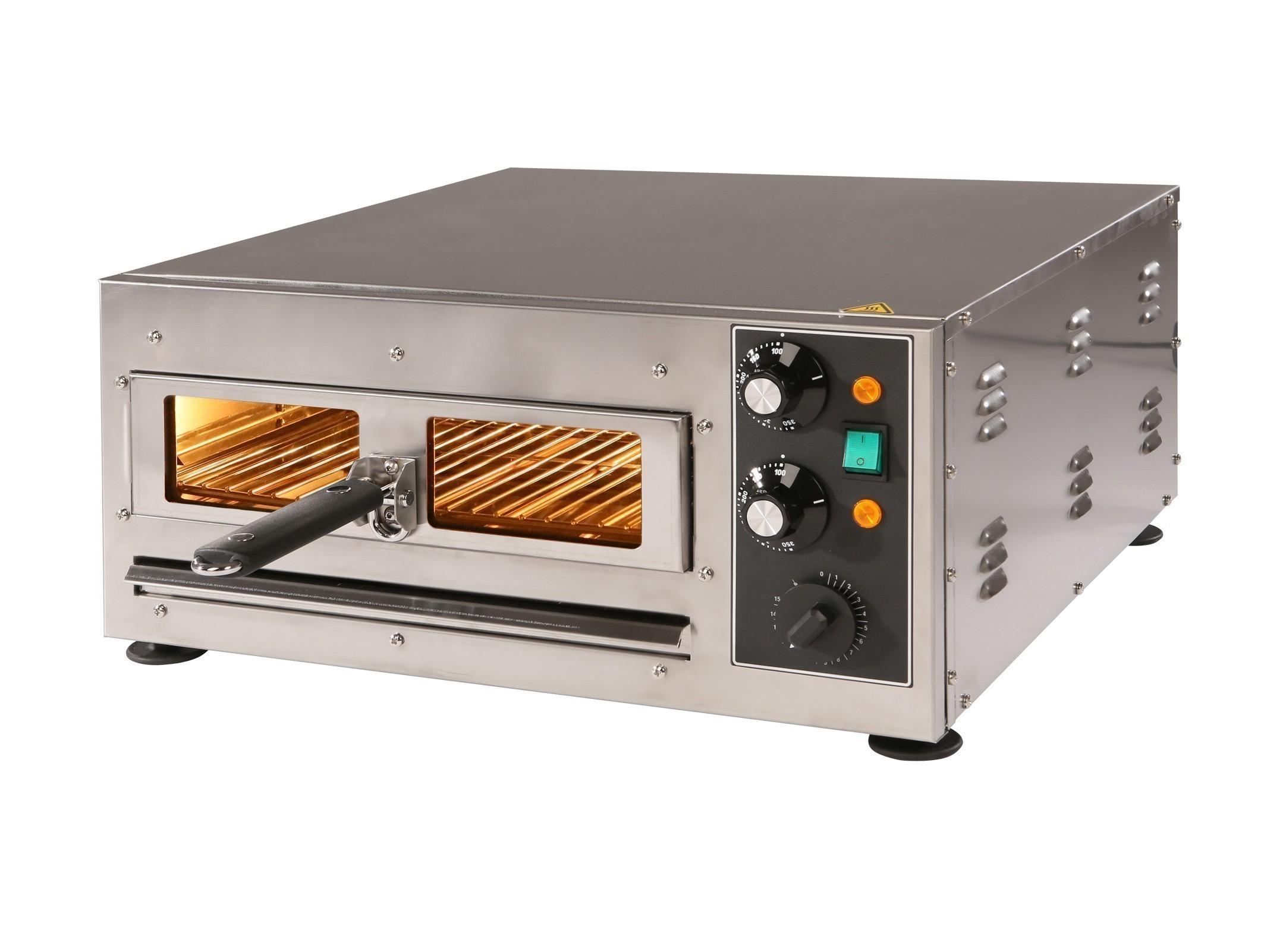 Pizzaofen / Flammkuchenofen F 134 GE elektrisch 230V 2kW Bild 1