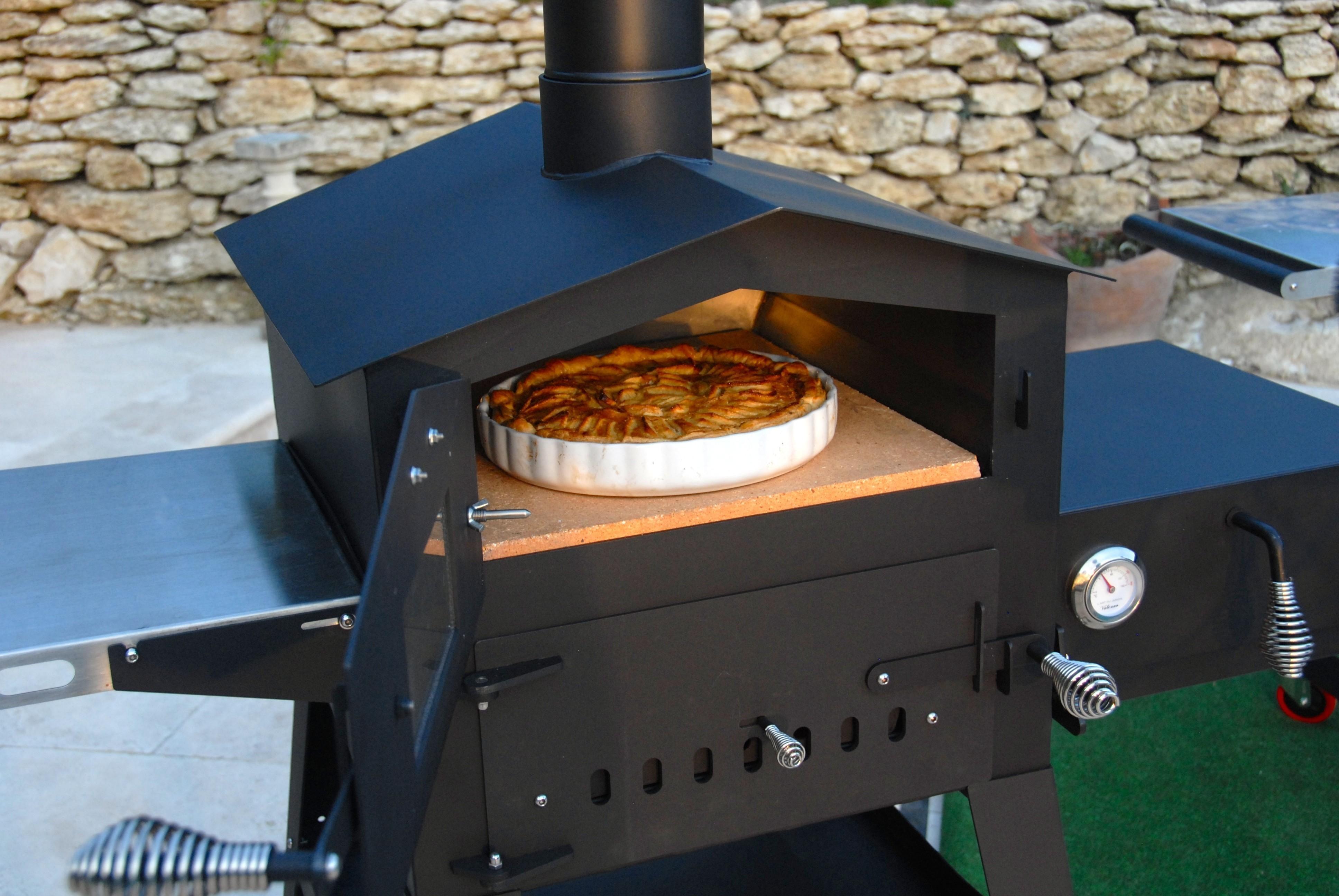 Pizzaofen, Flammkuchenofen Vulcano 2 Bild 4