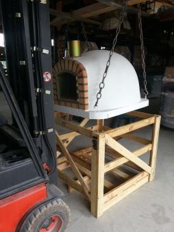Pizzaofen / Holzbackofen / Brotbackofen Forno de Pedra 100x100cm Bild 4