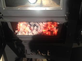 Pizzaofen / Holzbackofen Vulcano 2 ohne Warmhaltebox und Tablett Bild 3