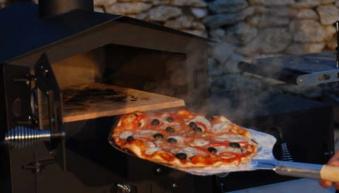 Pizzaofen / Holzbackofen Vulcano 2 ohne Warmhaltebox und Tablett Bild 6