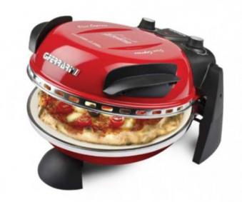 Pizzaofen / Pizzamaker Delizia elektrisch 1200 W Ø31cm rot Bild 1