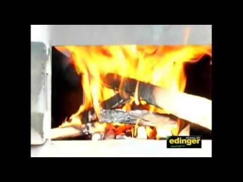 Profi Pizzaofen / Brotbackofen / Flammkuchenofen Outdoorküche Video Screenshot 2009