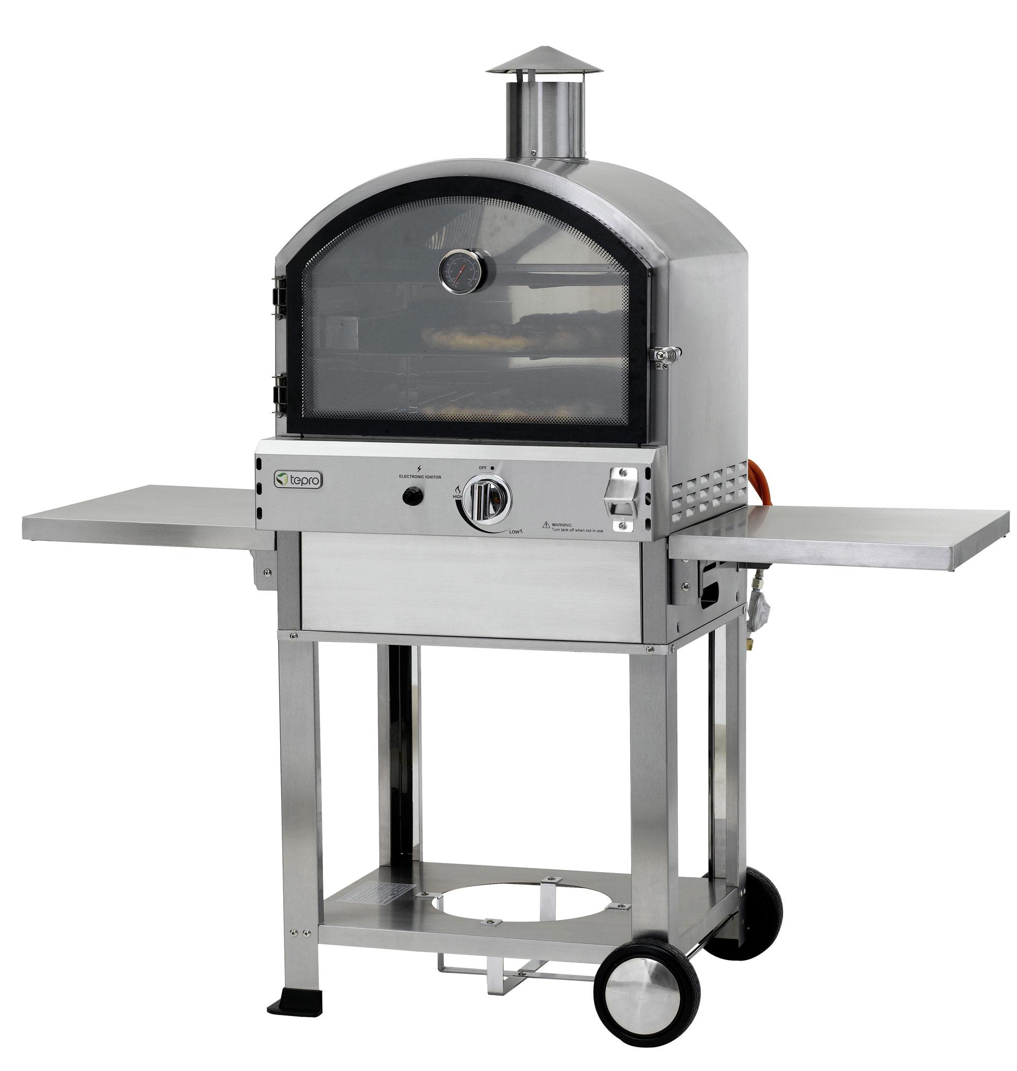 Tepro Pizzaofen Gas / Gas-Pizzaofen / Flammkuchenofen Santa Fe Bild 1