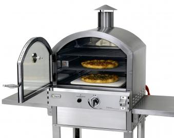 Tepro Pizzaofen Gas / Gas-Pizzaofen / Flammkuchenofen Santa Fe Bild 2