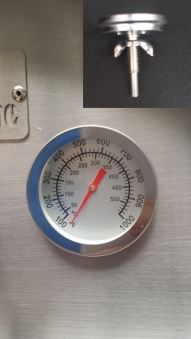 Thermometer Grillthermometer Backofenthermometer 400 C Bild 1