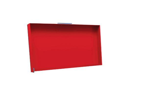 Simogas Deckel / Abdeckung CV-R Plancha Rainbow 70 rot Bild 1