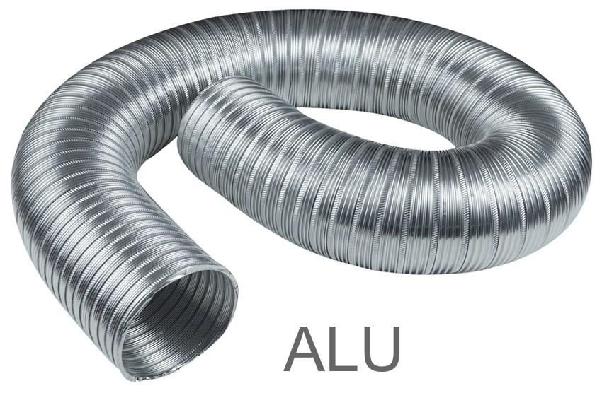 Alu-Flexrohr 100/1000 mm Bild 1