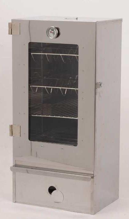 Räucherofen / Elektroräucherofen Euro Windkat Stahlblech verzinkt Bild 1