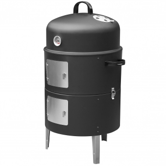 Räucherofen / Smoker barbecook Ø43,7cm H82cm schwarz Bild 1