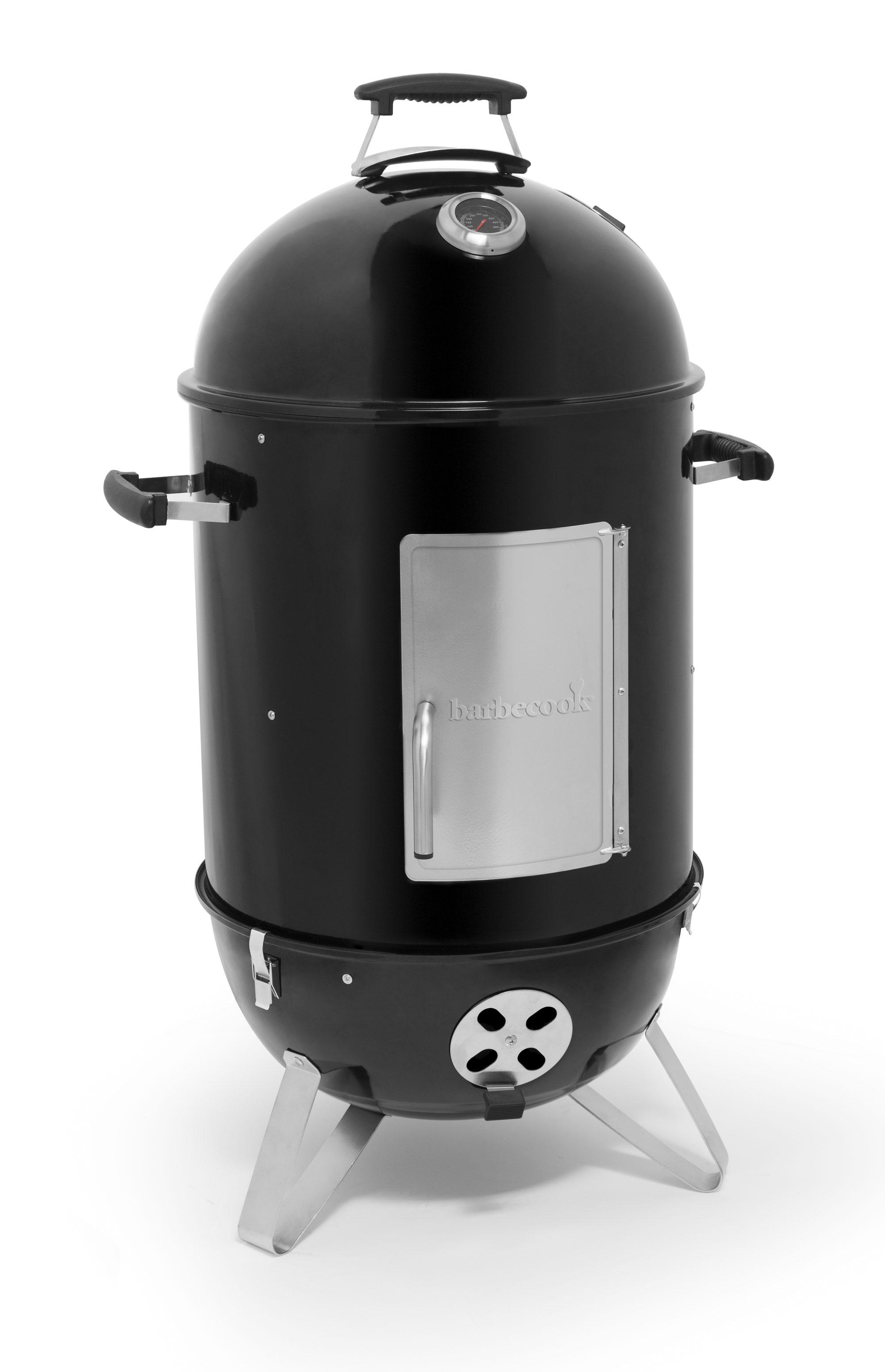 Räucherofen / Smoker barbecook Oskar M Ø39cm / H 99cm schwarz Bild 1