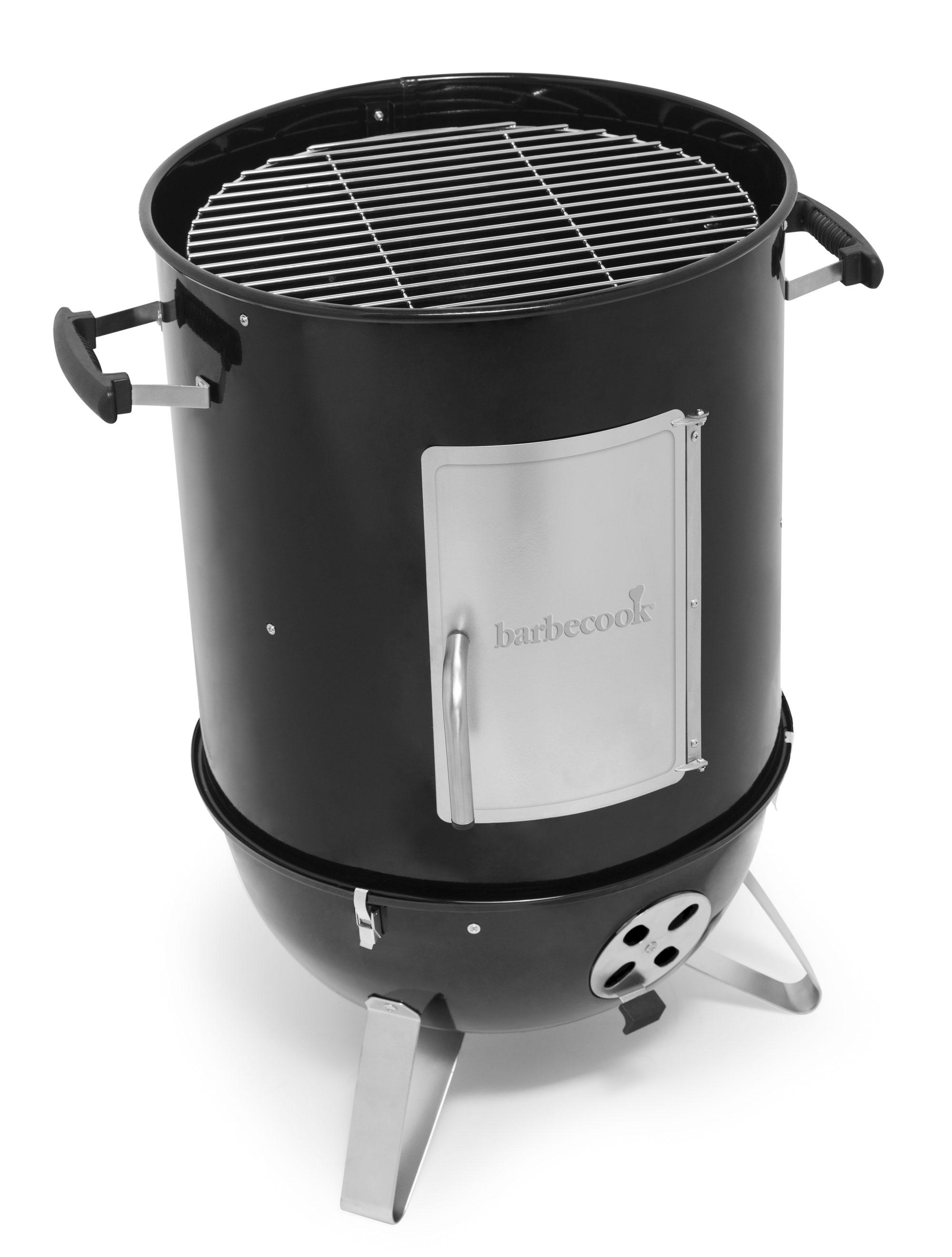 Räucherofen / Smoker barbecook Oskar M Ø39cm / H 99cm schwarz Bild 3