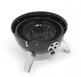 Räucherofen / Smoker barbecook Oskar M Ø39cm / H 99cm schwarz Bild 4