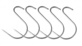 S-Haken asymmetrisch Edelstahl Bild 1