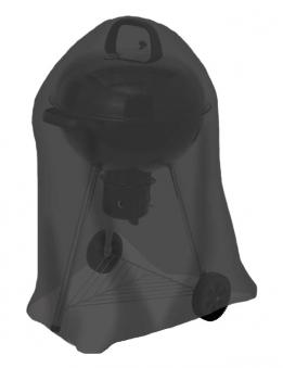 Abdeckhaube / Schutzhülle Tepro Kugelgrill klein schwarz
