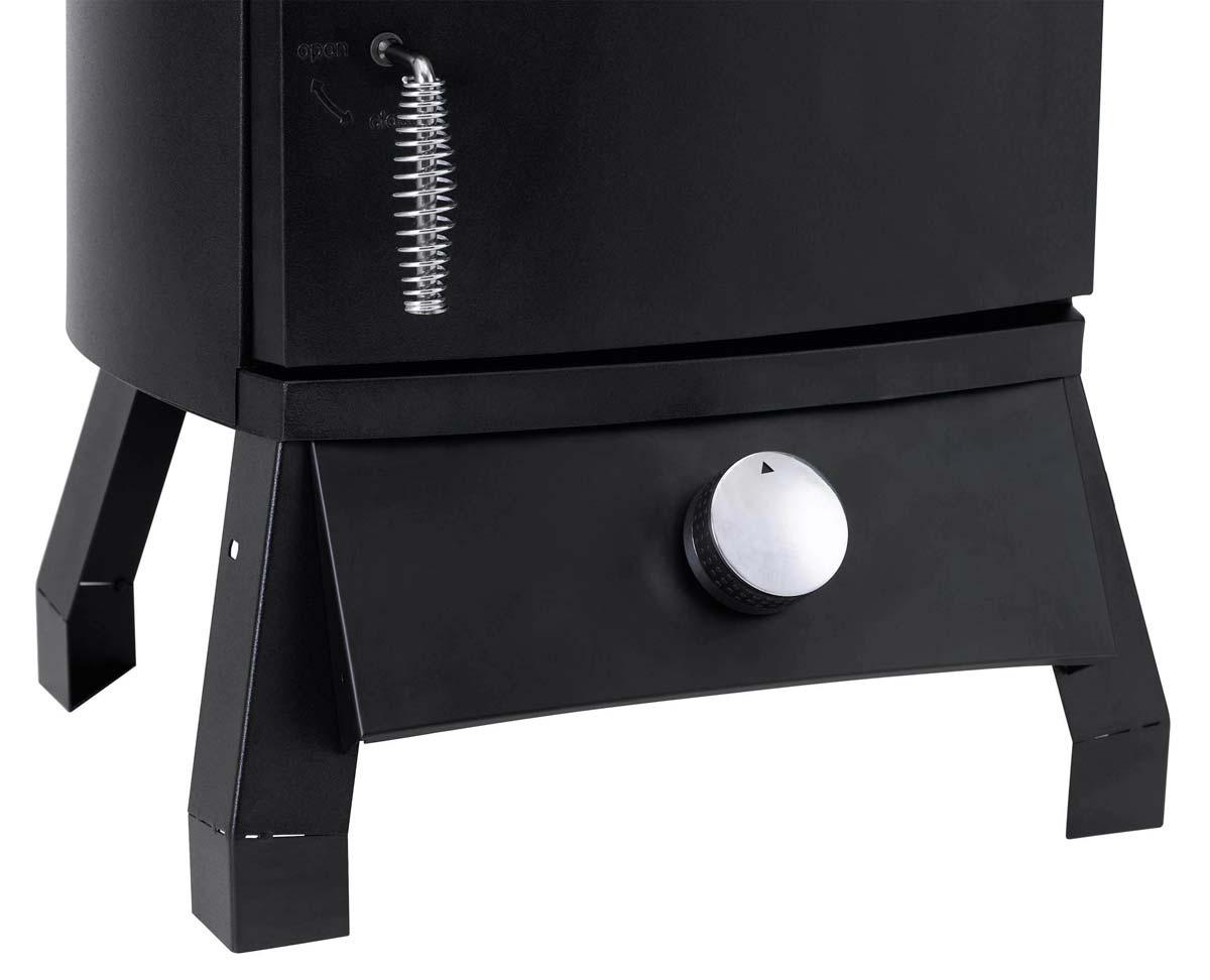 Tepro Gas Räucherofen / Räucherschrank Lockport 46x42x104cm schwarz Bild 4