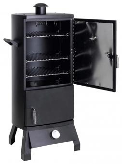 Tepro Gas Räucherofen / Räucherschrank Lockport 46x42x104cm schwarz Bild 2