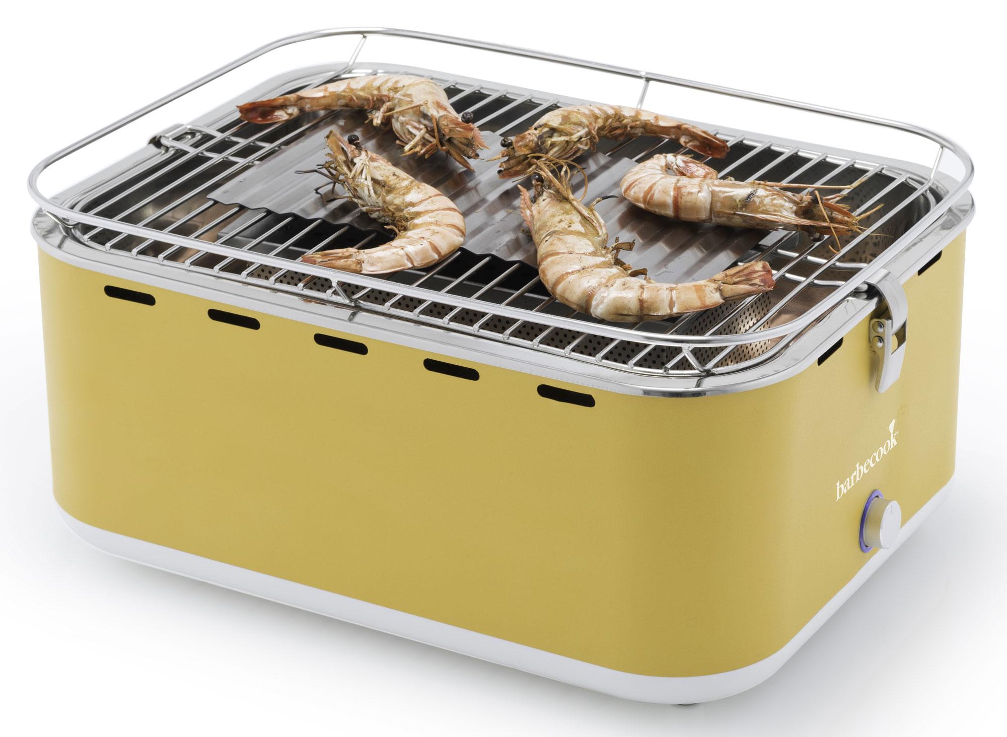Campinggrill / Rauchfreier Grill barbecook Carlo m. Tasche 38,5x28,5cm Bild 4