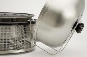 Deckelhalterung für COBB Grill Easy to go Gas 9x20x20cm Bild 1