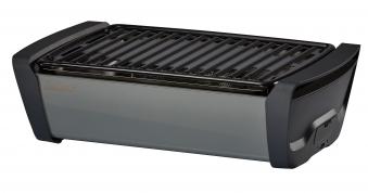 Enders Raucharmer Grill / Tischgrill Aurora grey Grillfläche 37x25cm Bild 1
