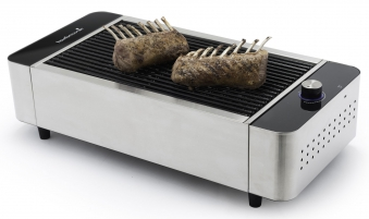 Tischgrill / Rauchfreier Grill barbecook Karl mit Tasche 41,5x23,2cm Bild 4