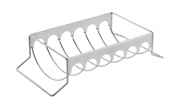 Bratenhalter / Rippchenhalter Rösle BBQ Edelstahl 43,3x11x21,2 cm Bild 2