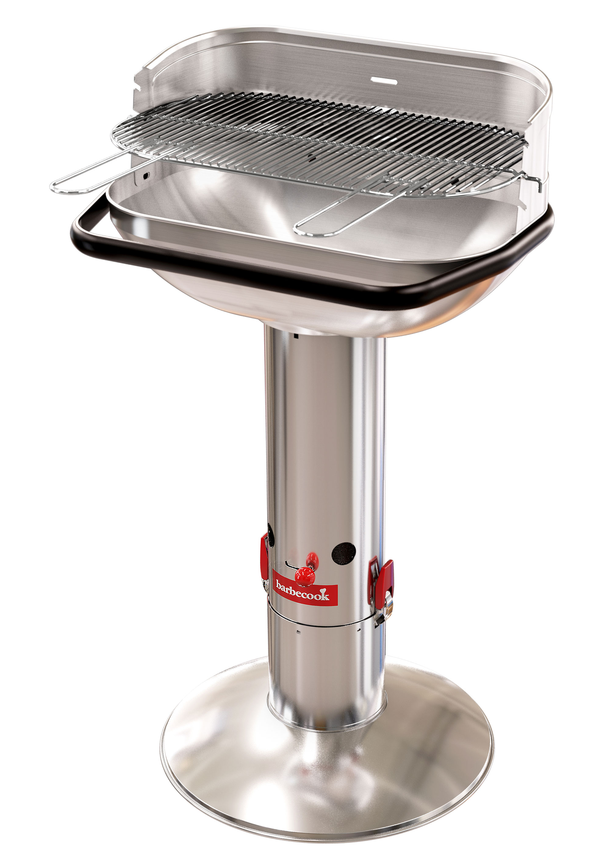 Säulengrill / Holzkohlegrill barbecook Loewy 55 SST Grillfl. 56x43cm Bild 1