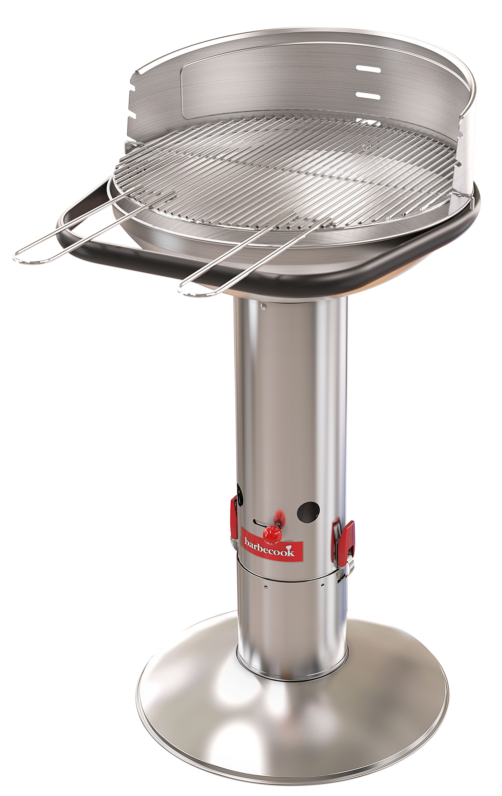 Säulengrill / Holzkohlegrill barbecook Loewy 50 SST Grillfl. Ø47,5cm Bild 1