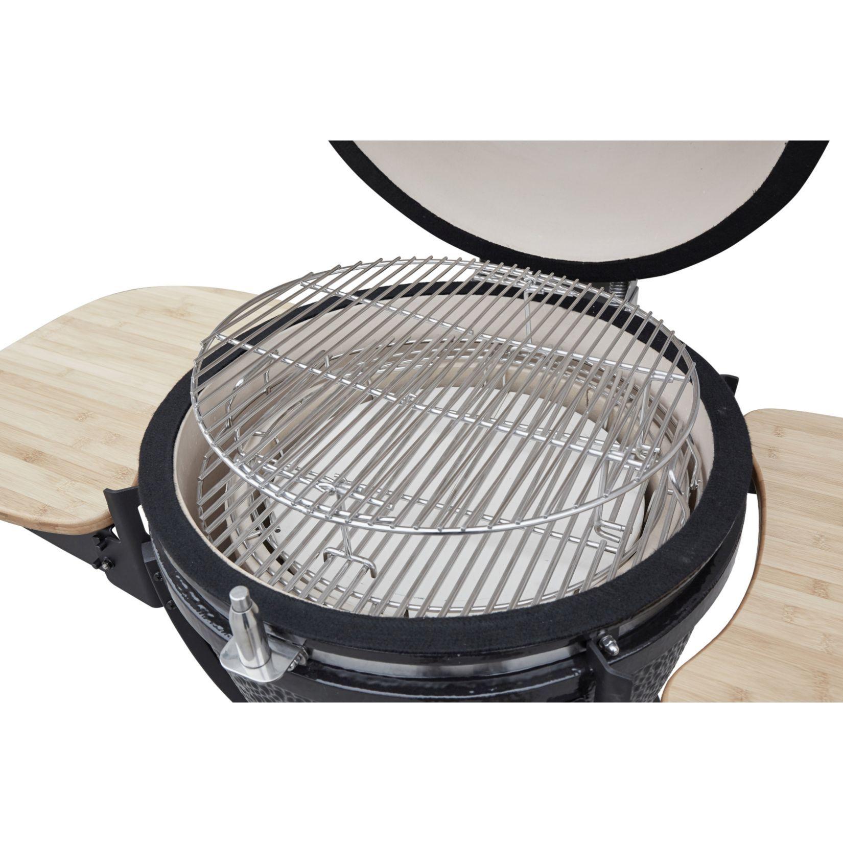 B-Ware El Fuego Grill Kamado Keramik-Grill 560 G Bild 5